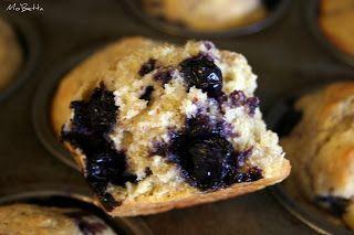 Makin' it Mo' Betta: Blueberry Cornmeal Muffins (egg free)