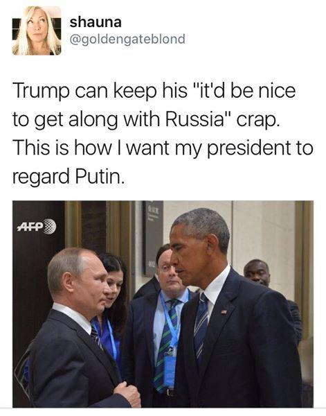 """Its me, Bitch""- Obama"