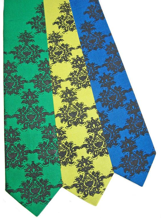 Colorful Classy Ties on Etsy. $30