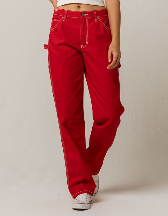 Dickies Red Carpenter Pants Red Christmas Outfit Christmas