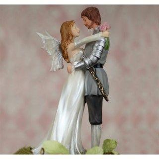 Fantasy Fairy Wedding Cake Topper #wedding #caketop #daisydays