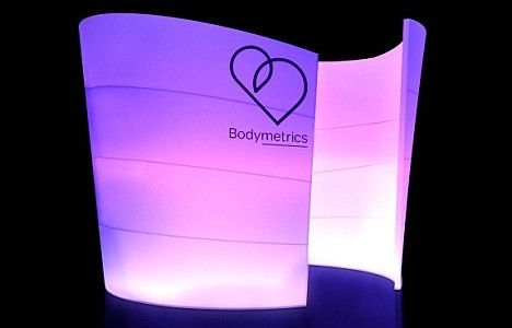 Bodymetrics pods scan customers' bodies to get their clothing measurements