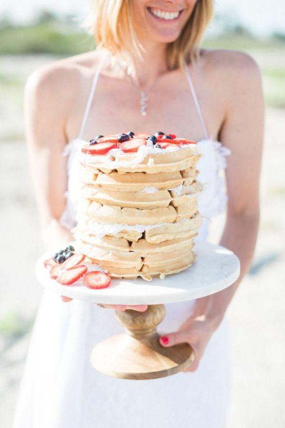 waffle cake:
