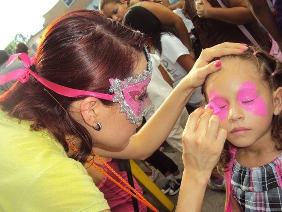 Michelle Talleres Infantiles Pinta Caritas, face painting