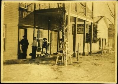 Occidental Hotel on Front Street, Quesnel - Northern BC Archives