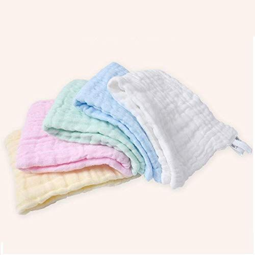 Baby Soft Muslin Washcloths Set Of 5 Muslin Cotton Newborn Baby Face Towel Other Baby Soft Washing Clothes Muslin Cotton