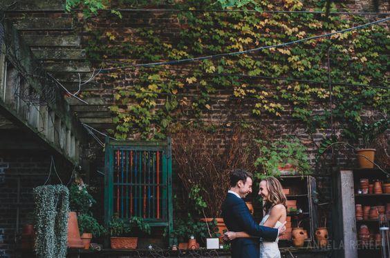 A New Leaf, A Chicago Wedding Venue. -Angela Renee Photography