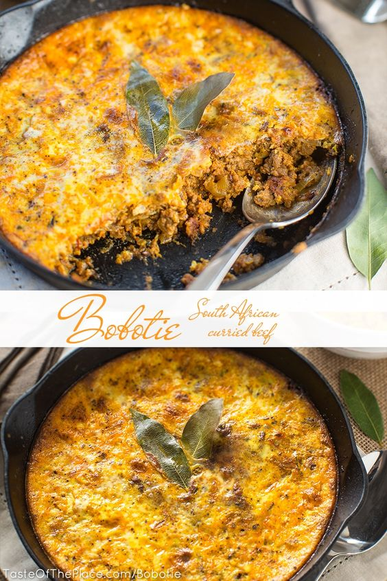 Bobotie - A Classic South African