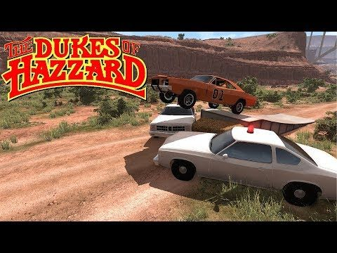 Beamng Drive General Lee Chase Dukes Of Hazzard With Images