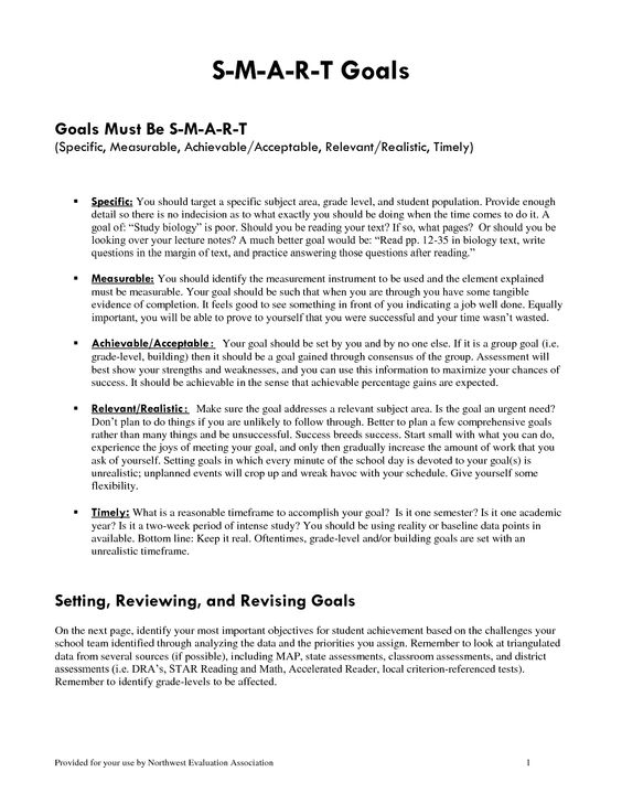 goals template  writing and templates on pinteresteducational smart goals template   smart goals doc s m a r t goals goals