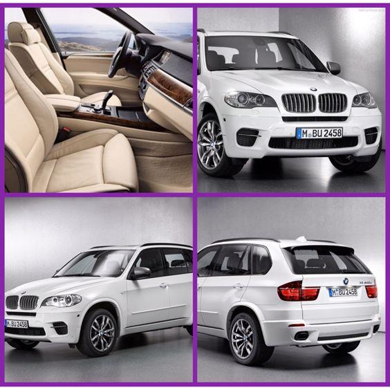 MY DREAM CAR BMW X5 White With Beige Leather Interior