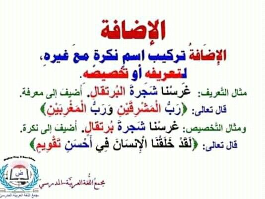 Pin By سنا الحمداني On علم النحو Arabic Arabic Calligraphy Education