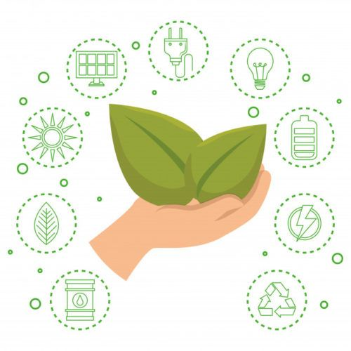 How To Be More Environmentally Friendly In 2020 World Icon Vector Free Vector Illustration Design