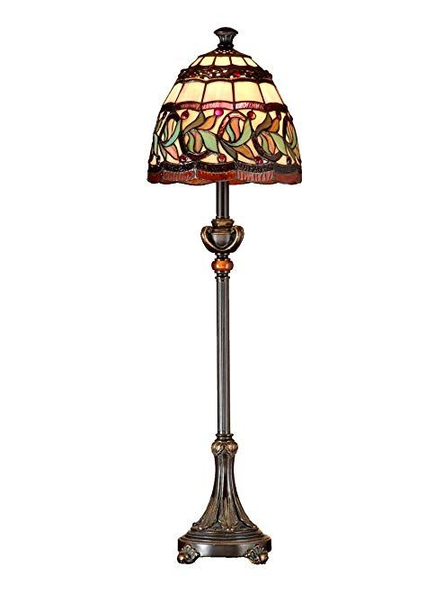 Dale Tiffany Tb101109 Aldridge Buffet Lamp 9 X 9 X 30 Antique Bronze Review Buffet Lamps Gold Lamp Bronze Floor Lamp