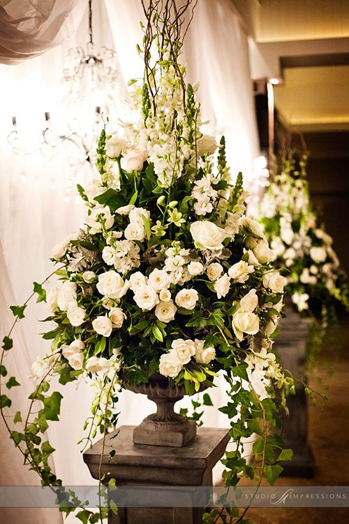 wedding altar flower arrangements inspiration downton and style on 8381