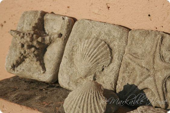 Beach Sand Shell Molds.