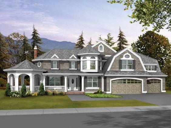 Gazebo Porch House Plans With B