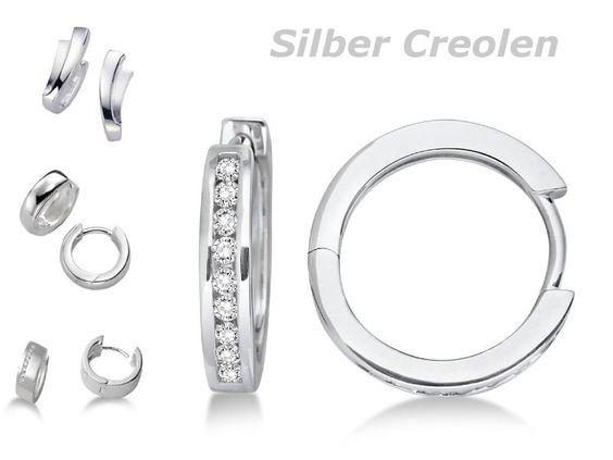 Silber Creolen die gern mal kaufen wöllte...