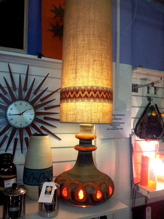 1960s-70s West German Ceramic Lamp | Junky | Pinterest | Floor ...