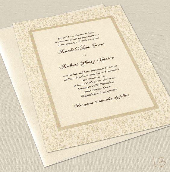 Formal wedding invitations, Formal wedding and Formal invitations on - best of formal invitation salutations