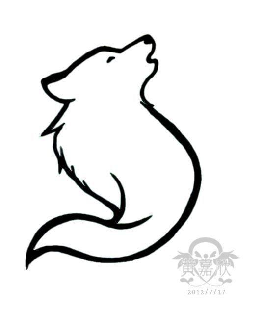 Epingle Par Tay Luh Sur Wolf And Fox Drawings Dessin De Loup Loup Dessin Dessin Loup Facile