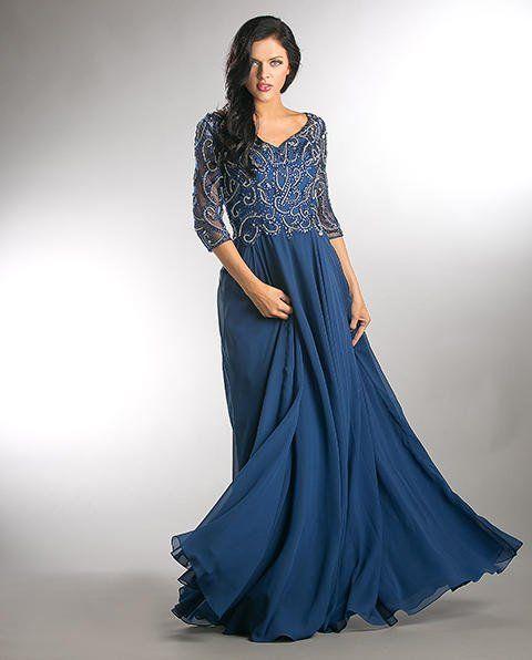 K\u0026k mother dress e746 | Mother of groom