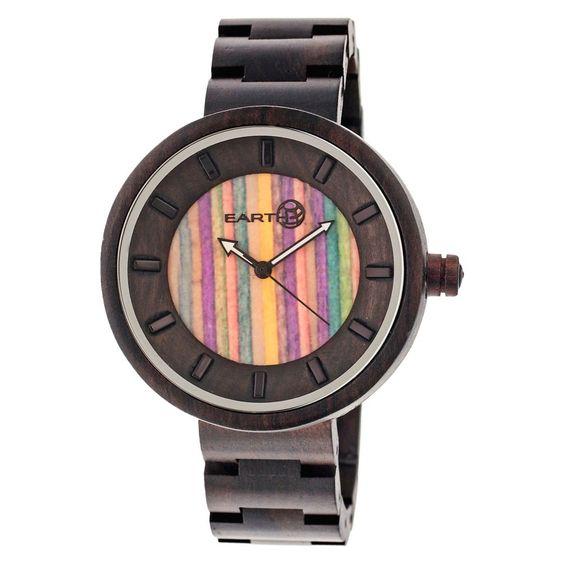 Women's Earth Root Wood Bracelet Watch-