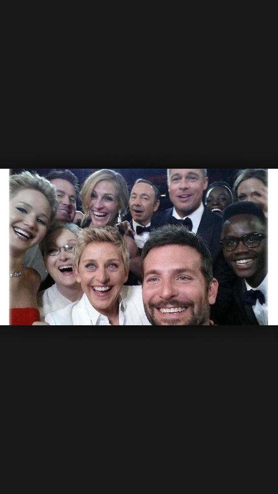 Selfie de los Oscar que ha invadido las redes sociales