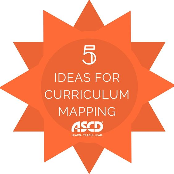 """Five curriculum mapping ideas from """"curriculum bootcamp."""""""