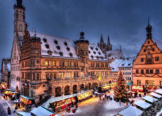 Марктплац(Площа ринок), Ротенбург, Німеччина