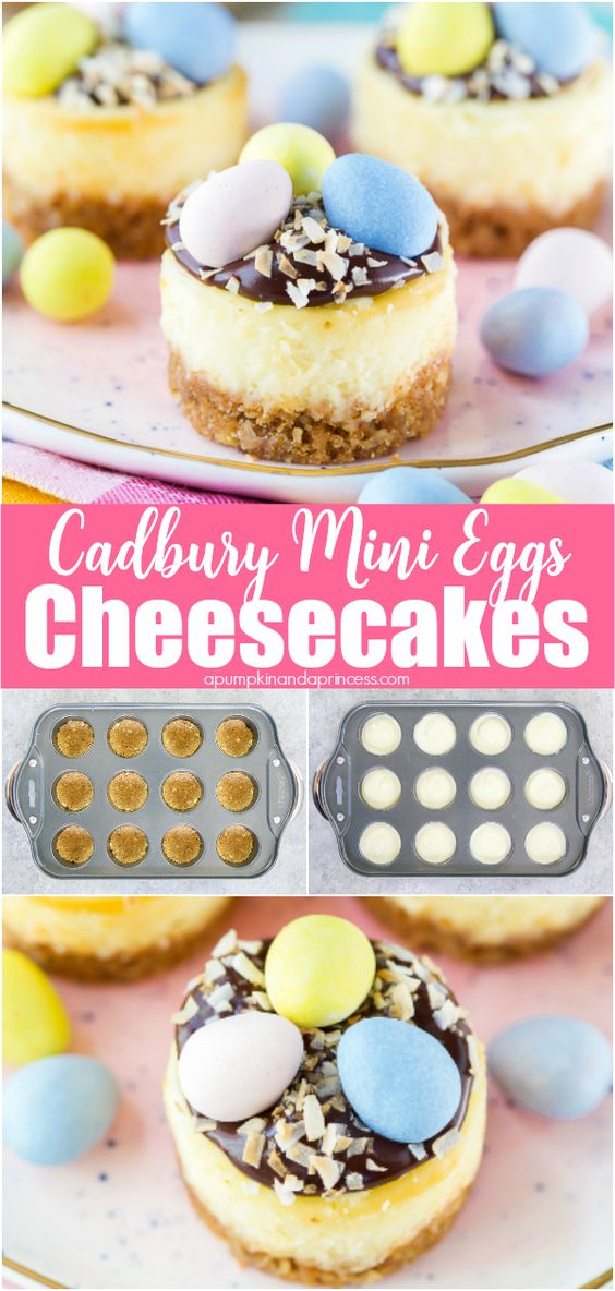 Cadbury Mini Eggs Cheesecake