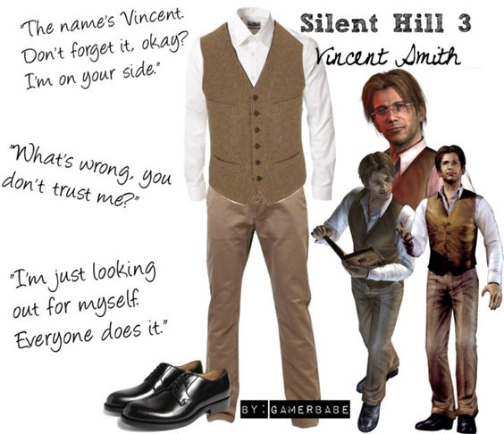 """""""Silent Hill 3 - Vincent Smith"""" by gamerbabe91 on Polyvore"""