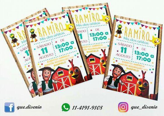 Invitaciones Granja Zenon Invitaciones De La Granja