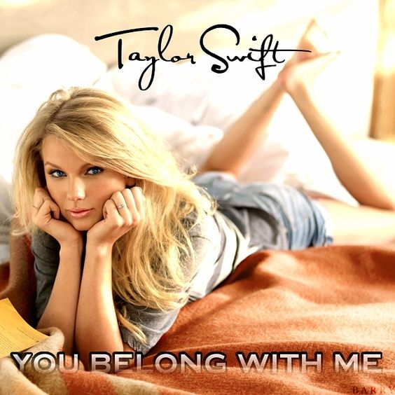 Taylor Swift – You Belong With Me (single cover art)