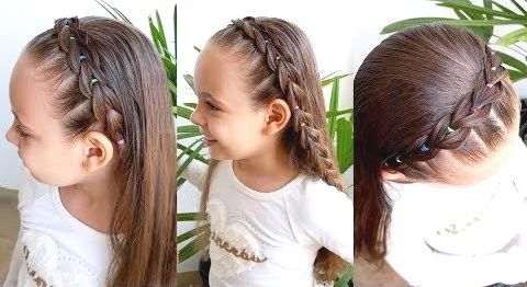 Easy Hairstyles Medium Hairstyles For Little Girls Short Hairstyles For Small Girls Easy Hairstyles Trendy Short Hair Styles Hair Styles Baby Hairstyles