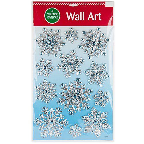 3D Sparkly Christmas Snowflake Wall Art Mirror Cling 12pk... https://www.amazon.com/dp/B01MXC28PD/ref=cm_sw_r_pi_dp_x_bdCyybWTA8PKK
