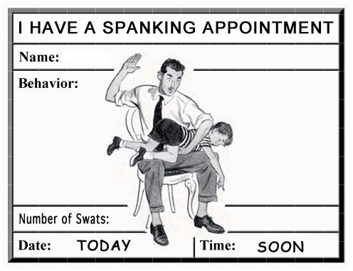 I am going to spank you