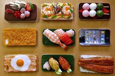 Essen oder Handy? Interessant!