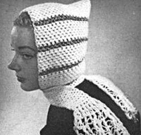 Free Knitting Pattern Pixie Hood : Pixie Hood Crocheted Hat Pattern Free Crochet Hat ...