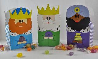 Dulce Fragancia: Casi llegan los Reyes ... para niños