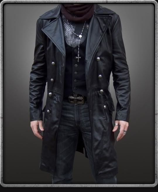 Leather jacket mens outerwear – Modern fashion jacket photo blog