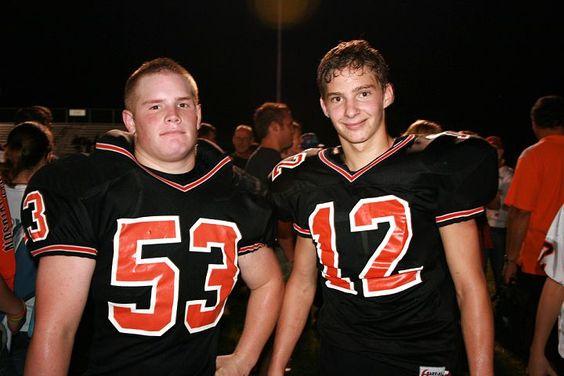Aaron and Chad