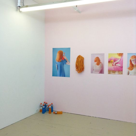 """laurencephilomene-photo: """" Installing art matters group show We, """"Others"""" today // installation by Laurence Philomene """""""