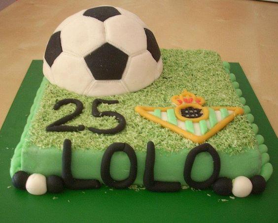 Betis Fan Cake