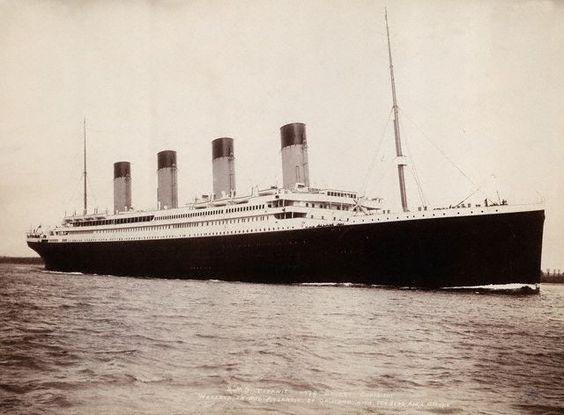 www.contentwithpictures.com  Real Titanic photo, original