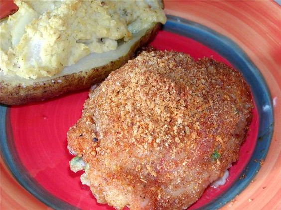 Stuffed Mexican Chicken recipe (from Food.com)!