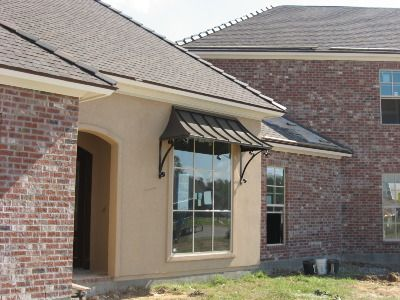 Copper Awnings Metal Awnings Standing Seam Awnings