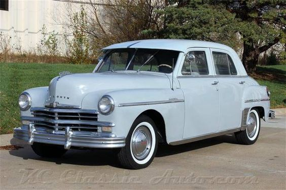 Plymouth sedans and for sale on pinterest for 1949 plymouth 4 door sedan