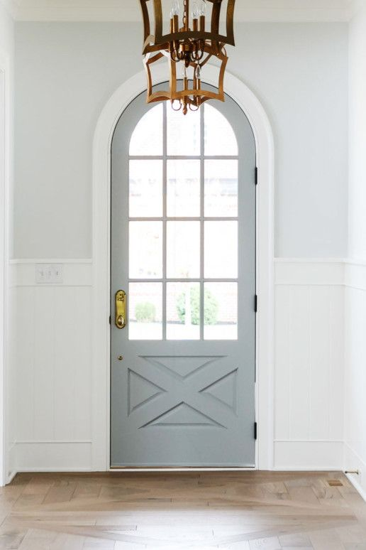 Single French Door Round Top Grey Single French Door Front Entry Doors French Doors