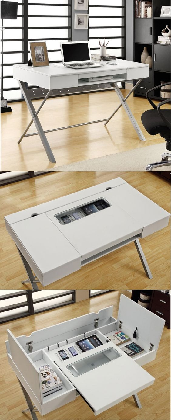 We almost passed this desk off as too small until we saw it open, check out all…